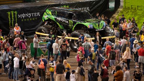 Monster Jam Pit Party Cardiff