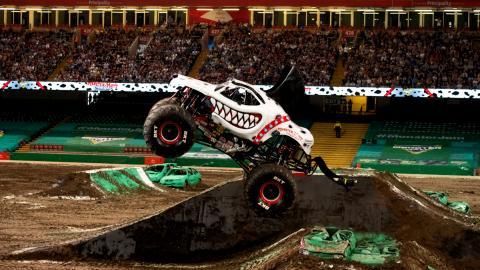 Monster Mutt Dalmatian Monster Jam Cardiff