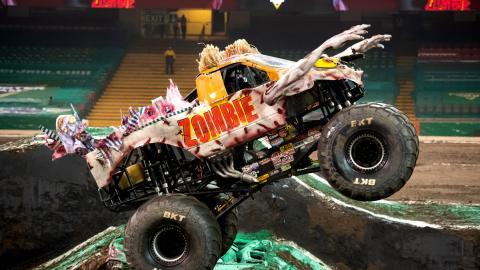 Zombie Monster Jam Cardiff