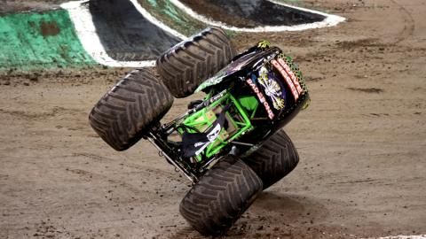 Grave Digger in Cardiff
