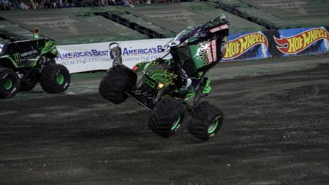 Grave Digger - Photo by Pam Mole