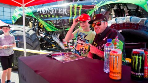 Monster Energy Todd LeDuc Pit Party Rotterdam