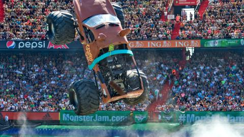 Scooby-Doo! Monster Jam Rotterdam Netherlands