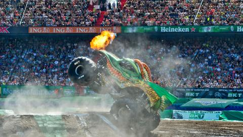 Dragin Monster Jam Rotterdam Netherlands