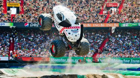 Monster Mutt Dalmatian Monster Jam Rotterdam Netherlands