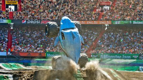 Megalodon Monster Jam Rotterdam Netherlands