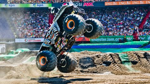 Max-D Monster Jam Rotterdam Netherlands