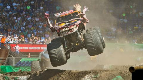 Zombie Monster Jam Rotterdam Netherlands