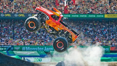 El Toro Loco Monster Jam Rotterdam Netherlands