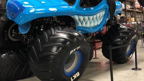 Team Ice Monster Mutt Dalmatian