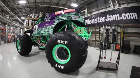 Grave Digger in Shop