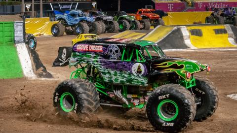 Grave Digger. Photo by Susan Woolley