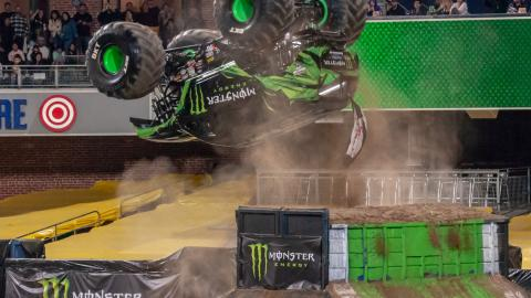 Monster Energy. Photo by Susan Woolley.