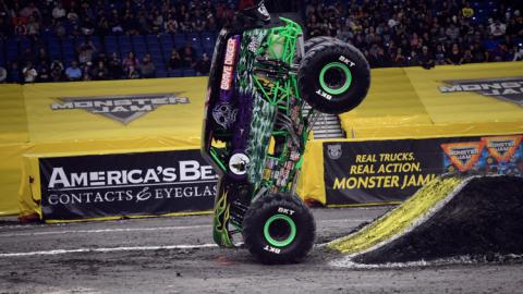Grave Digger. Photo by Kenny Lau