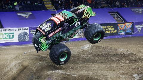 Grave Digger. Photo by Kevin Berryman