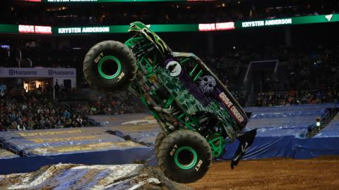 Grave Digger. Photo by Shawn Hancock
