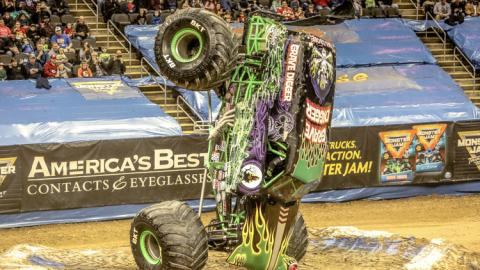 Grave Digger. Photo by Jen Bay