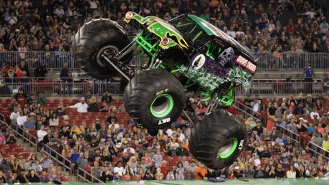 Grave Digger. Photo by Eric Stern