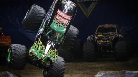 Grave Digger. Photo by Brett Moist