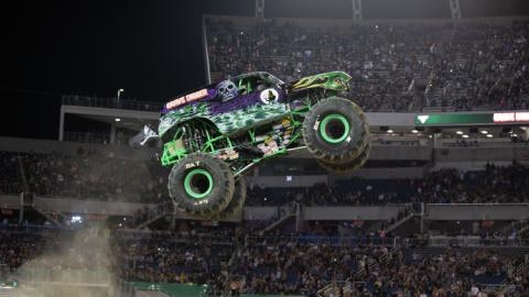 Grave Digger Orlando. Photo by Eric Stern.