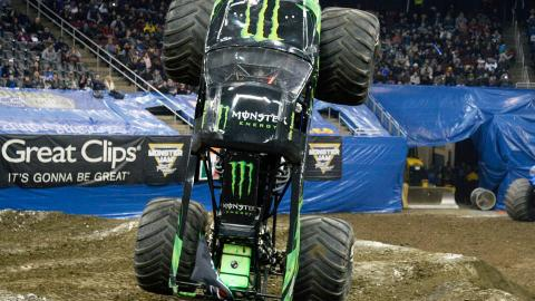 Monster Energy. Photo by Dave DeAngelis