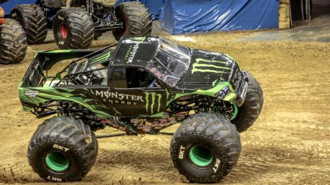 Monster Energy. Photo by Jen Bay