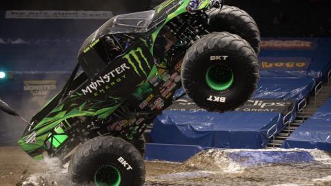 Monster Energy. Photo by Brett Moist