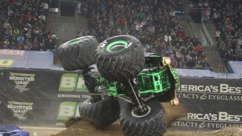 Grave Digger -  Photo by  Riley's Hotshots