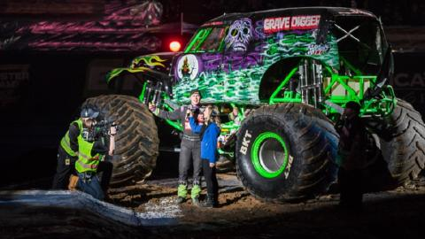 Grave Digger. Photo by Rod Jeffers.