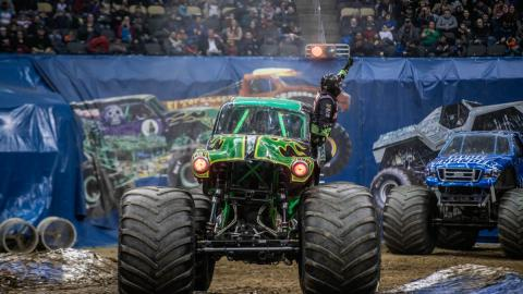 Grave Digger. Photo by Art Abandoned Photos