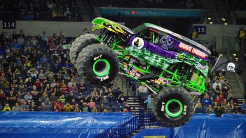 Grave Digger.  Photo by Josh Maxwell