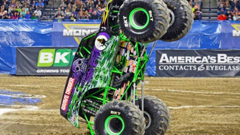 Grave Digger. Photo by Dave DeAngelis