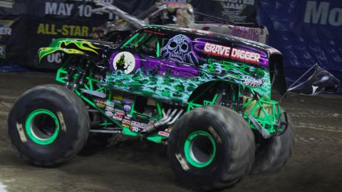 Grave Digger. Photo by Dalton Hastings