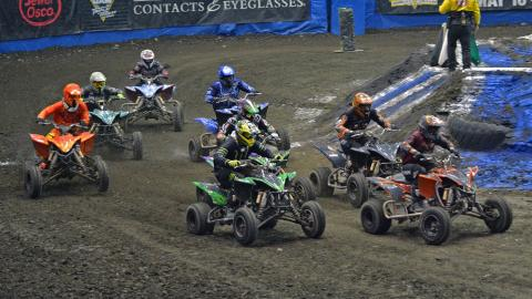 ATV Racing - Photo by Jason Twite