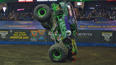 Grave Digger - Photo by Jason Twite