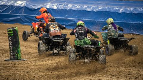 ATV Action - Photo by Andrew Latshaw