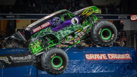Grave Digger - Photo by Tom Morris