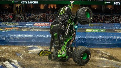Monster Energy - Photo by Andrew Latshaw
