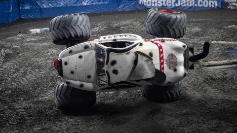 Monster Mutt Dalmatian 2 Wheel