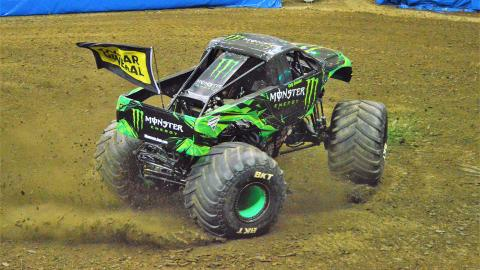 Monster Energy - Photo by Josh Maxwell