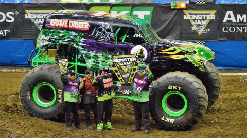 Grave Digger celebration - Photo by Josh Maxwell