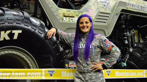Soldier Fortune driver Kayla Blood - Photo by Josh Maxwell