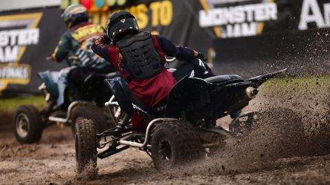 ATV Racing - Photo by Brett Moist