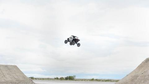Tanner Godfrey UTV jump - Photo by Fred Hayes - Courtesy of Discovery