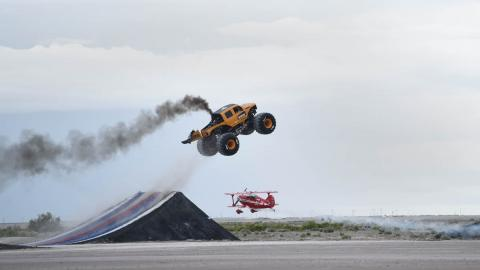 Monster Jump Live. Photo by Fred Hayes - Courtesy Discovery