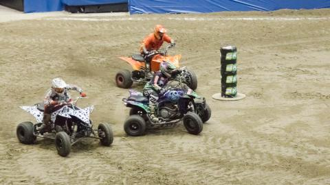 ATV Action - Photo by Vic Turczynski