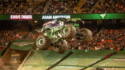 Grave Digger - Photo by Jen Bay