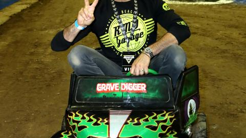 Jaime Camil Monster Jam LA