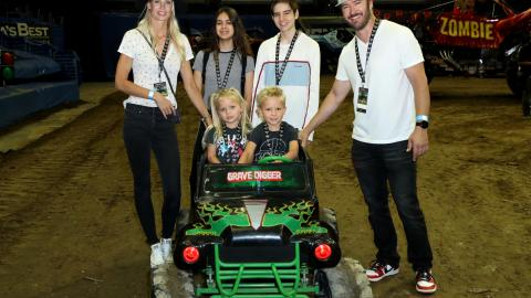 Mark-Paul Gosselaar Monster Jam LA