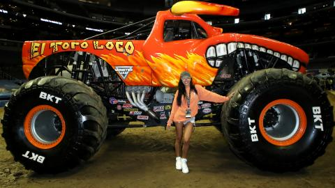 Naya River Monster Jam LA